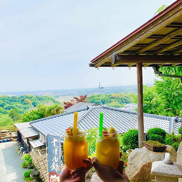 佐賀県上峰町の山の上にある大幸園タピオカジュースが新登場色とりどりのタピオカとフルーツ盛りでテイション上がりますよ!#佐賀県#上峰町#創作料理大幸園#タピオカ#ブーム#おいしい #映え (Instagram)